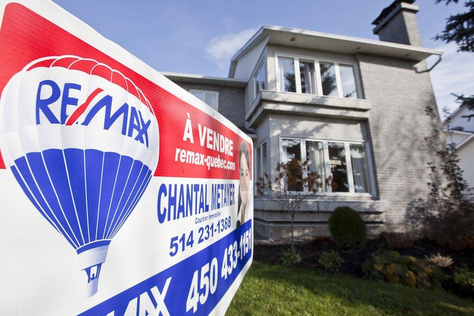 «La profession de courtier immobilier n'est pas menacée,... (Photo d'archives)
