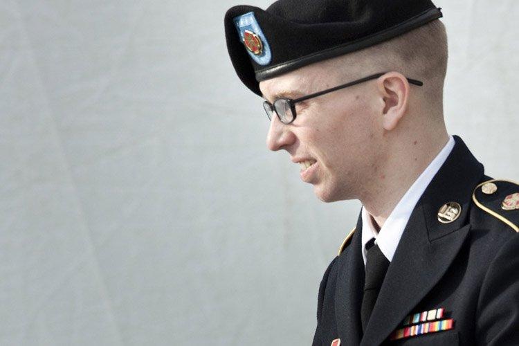 Bradley Manning... (Photo: AFP)