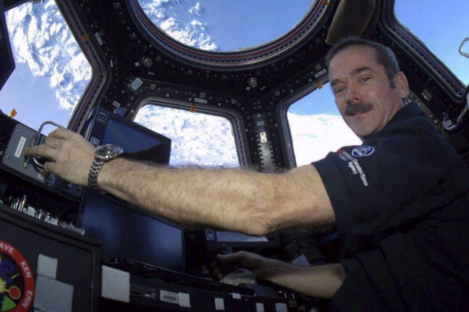 L'astronaute Chris Hadfield... (Photo Chris Hadfield, PC)