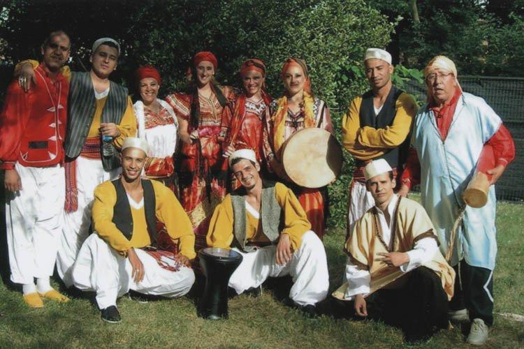 Se disant victimes de persécution en raison de... (Photo fournie par le Ballet national algérien)