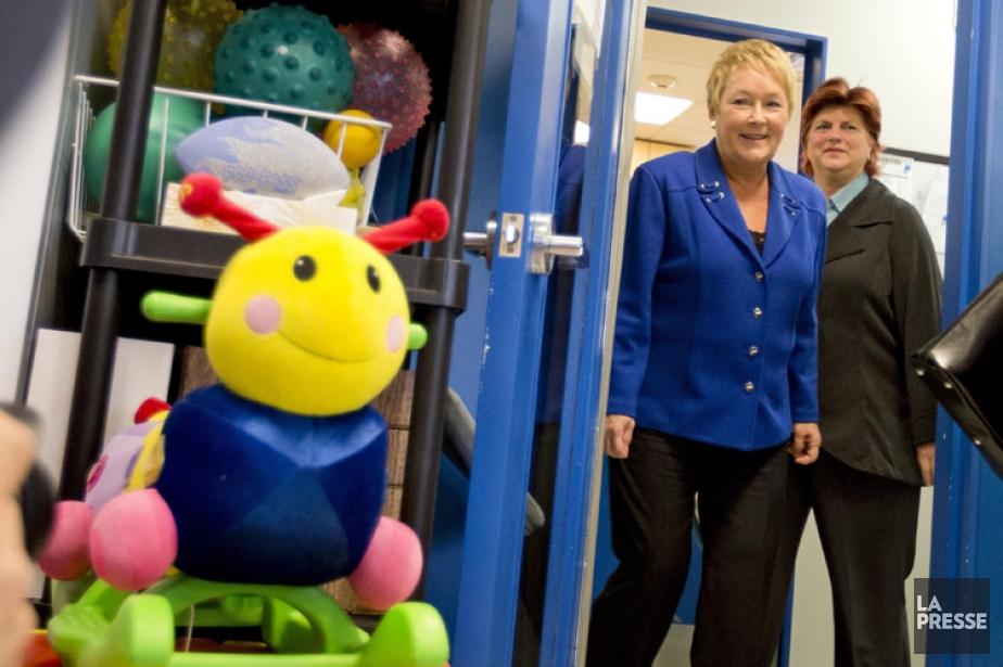 Pauline Marois, et la ministre de la Famille,... (Photo: Alain Roberge, archives La Presse)