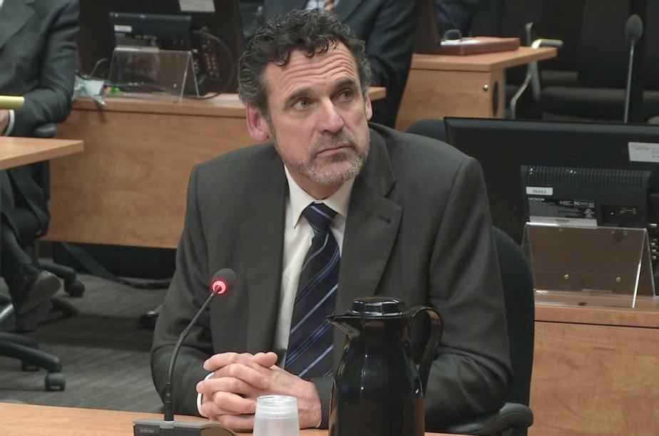 François Perreault, ex-ingénieur chez Genivar, a versé 16... (Photo archives La Presse Canadienne)