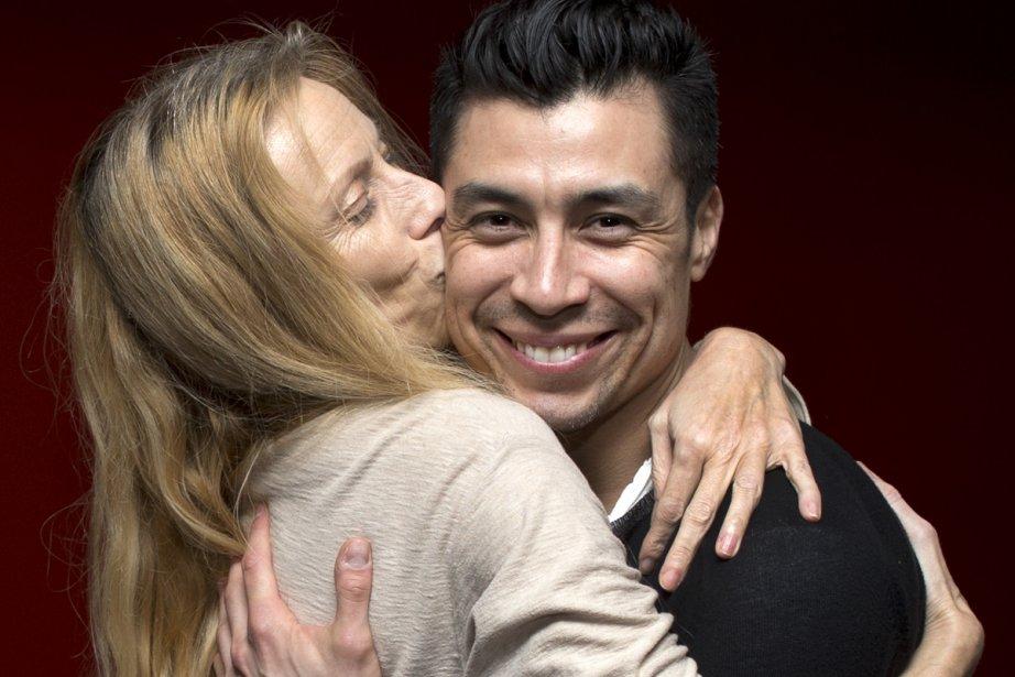Marie Chouinard et Victor Quijada.... (Photo: Robert Skinner, La Presse)
