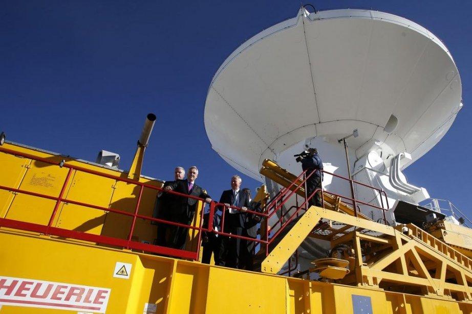 ALMA pourra effectuer des recherches plus loin que... (Photo Ivan Alvarado, Reuters)