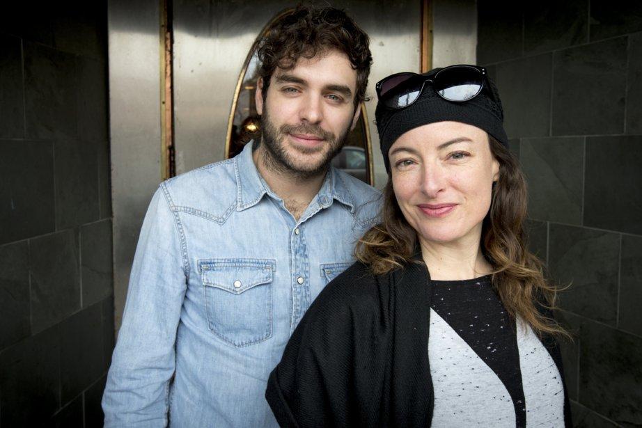 L'auteur-compositeur-interprète Alex Nevsky et l'actrice Pascale Bussières... (Photo: Alain Roberge, La Presse)