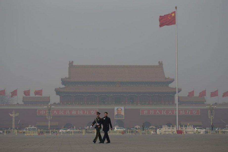 La capitale chinoise elle-même a atteint en janvier... (PHOTO Andy Wong/ AP)
