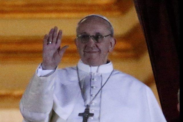 Le pape François....