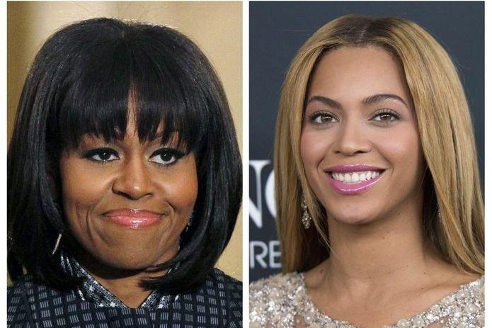 Michelle Obama et Beyoncé figurent parmi les personnalités... (PHOTO REUTERS)