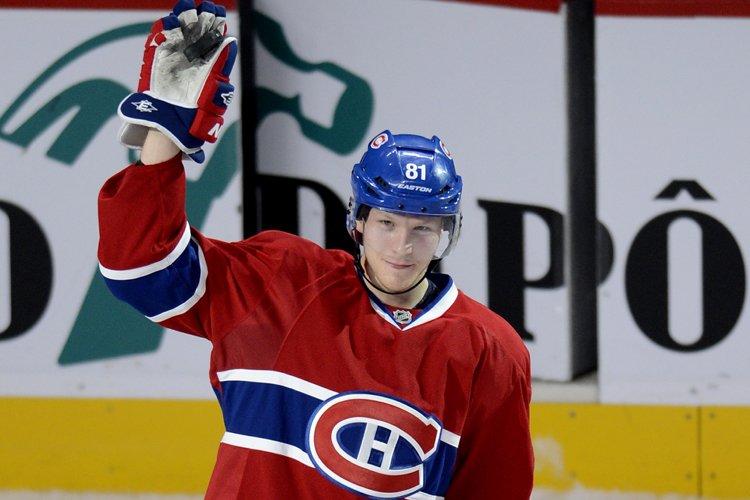 Lars Eller s'est mérité la première étoile du... (Photo: Bernard Brault, La Presse)