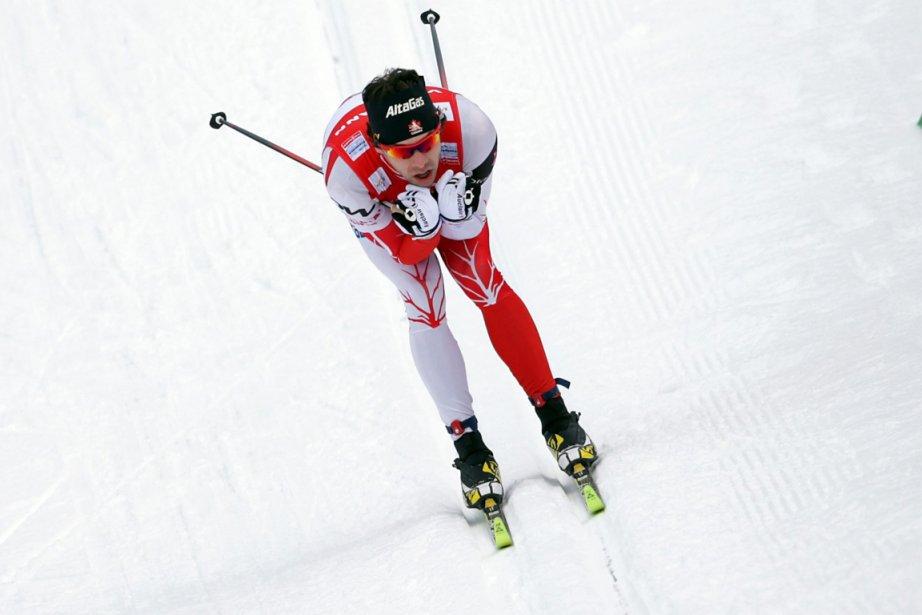 Alex Harvey a pris la 20e place au... (Photo Matthias Schrader, AP)