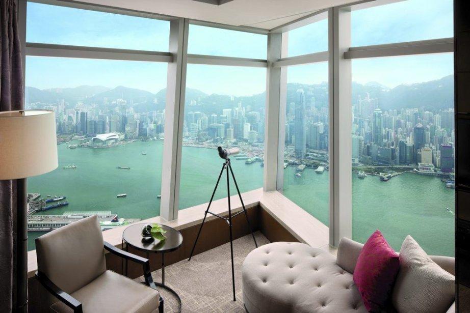La vue d'une des chambres du Ritz-Carlton de... (Photo Ritz Carlton)