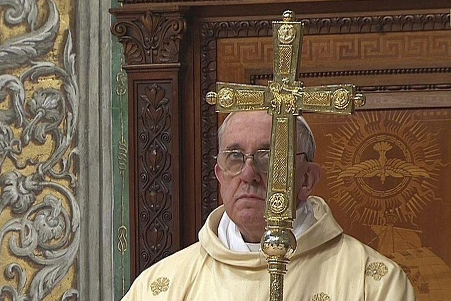 Depuis la renonciation de Benoît XVI, la planète... (PHOTO REUTERS TV)
