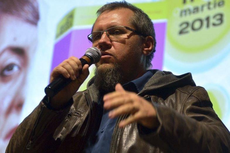 Le réalisateur Florin Iepan présentait son film Odessa... (DANIEL MIHAILESCU)