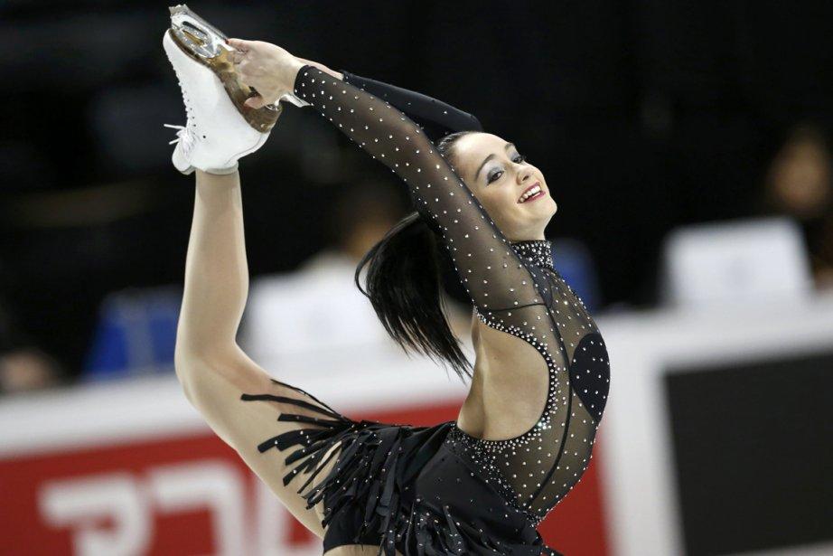 La Canadienne Kaetlyn Osmond a signé la meilleure... (Photo Mark Blinch, Reuters)