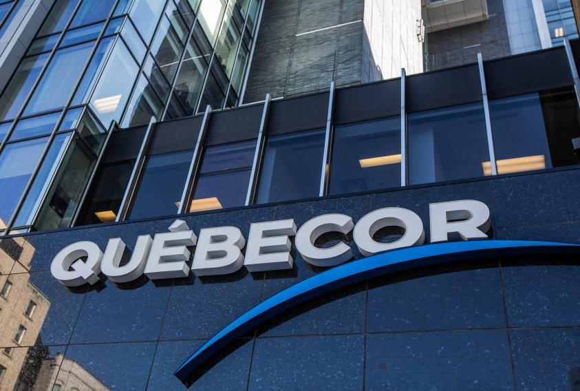 Alors qu'elle annonçait des changements majeurs à sa haute direction, Québecor...