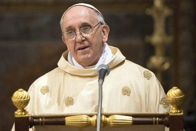 Le pape François.... (Photo AP)
