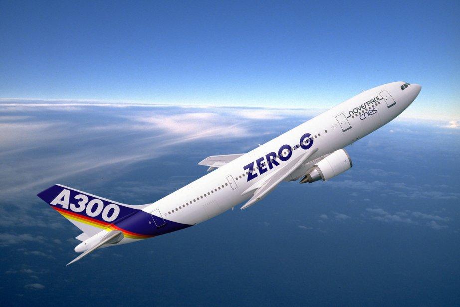 L'Airbus A300 Zéro-G de Novespace, filiale du... (PHOTO FOURNIE PAR NOVESPACE)