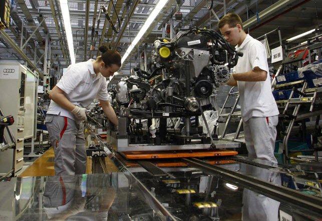 La production industrielle des États-Unis a nettement rebondi en février.