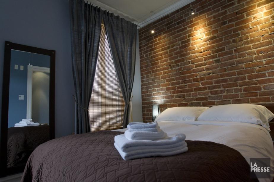 «Chambre à prix doux, avec accès à une jolie... (PHOTO OLIVIER JEAN, LA PRESSE)
