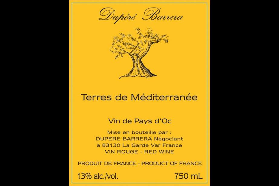 Dupéré Barrera Terres de Méditerranée2010, code SAQ: 10507104,...
