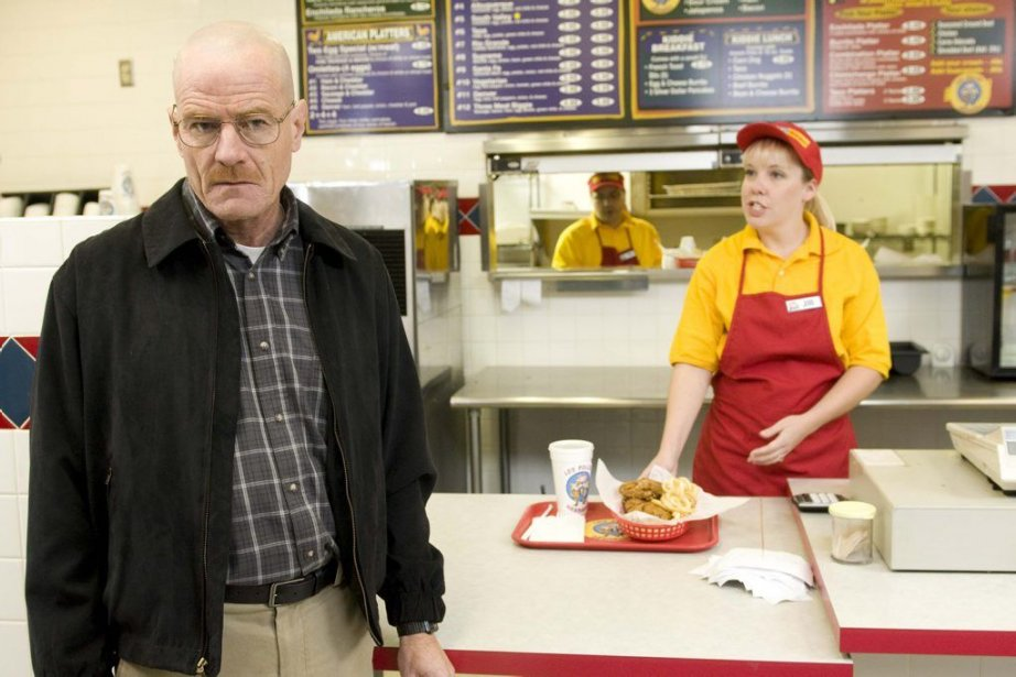 Walter White, joué par l'acteur Bryan Cranston, au... (PHOTO AP)