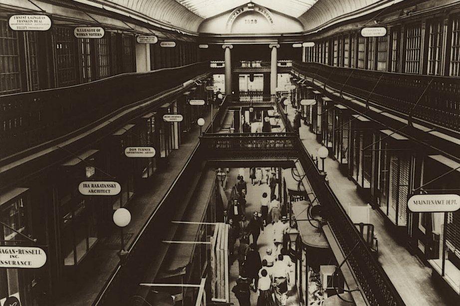 TheWestminster Arcade, à Providence.... (Photo tirée des archives de la RIHPHC)