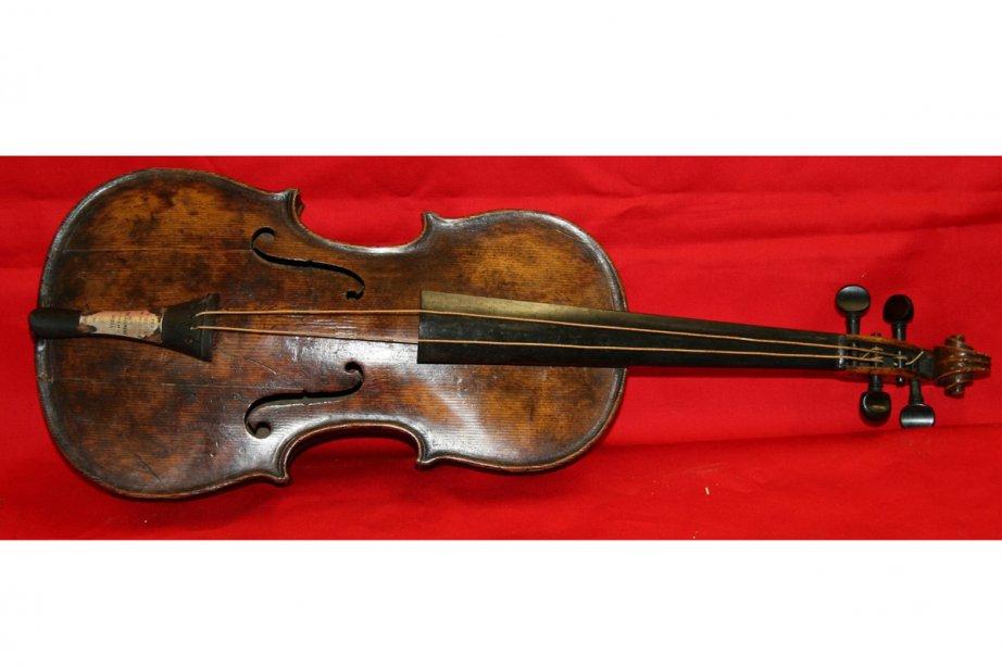 Le violon du Titanic... (Photo: AP)