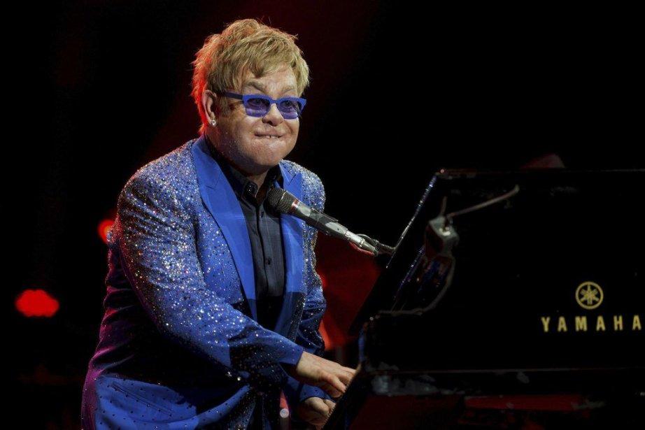 Elton John... (Photo: AFP)