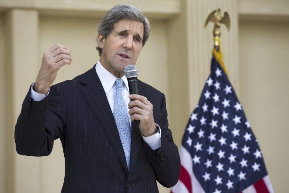 Le secrétaire d'État John Kerry a prévenu vendredi... (PHOTO JACQUELYN MARTIN, AFP)