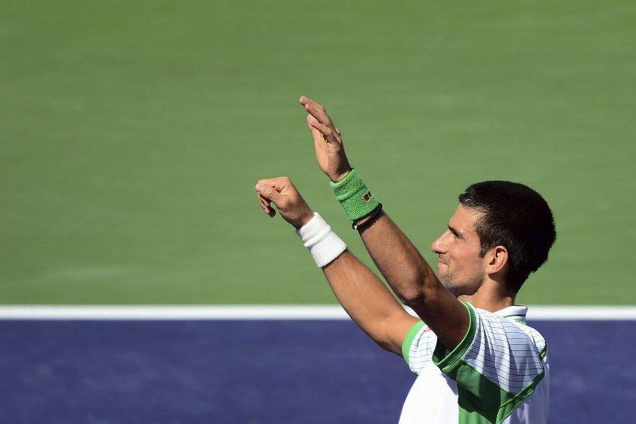 Novak Djokovic... (Photo Frederic J. Brown, Agence France-Presse)