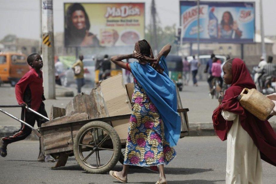Le centre-ville de Kano, au Nigeria.... (Photo Sunday Alamba, AP)