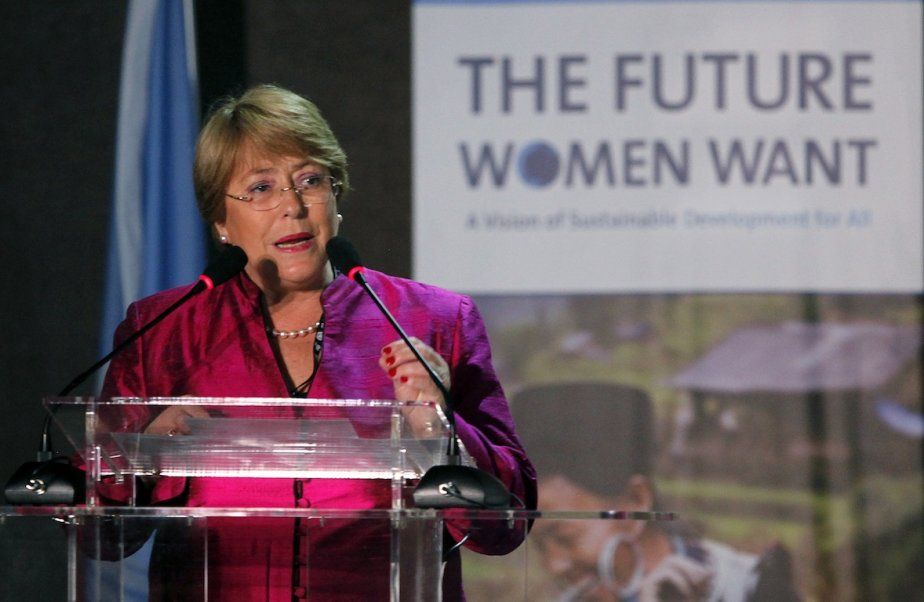 Michelle Bachelet, 61 ans, médecin de formation, a... (Photo Paulo Whitaker, REUTERS)