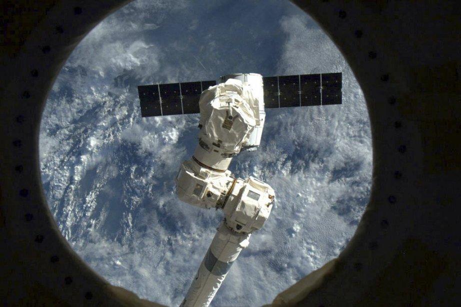 Une équipe de secours est allée récupérer la... (Photo Chris Hadfield, NASA)