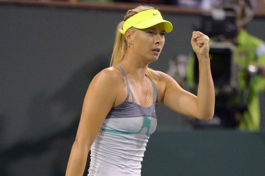 Maria Sharapova a dominé sa compatriote Maria Kirilenko... (Photo : Mark J. Terrill, AP)