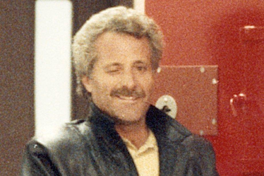 Raymond Boulanger et son fameux clin d'oeil, après... (Photo: archives La Presse)