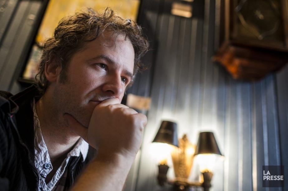 L'auteur, metteur en scène et comédien Simon Boudreault.... (Photo: Olivier Pontbriand, archives La Presse)
