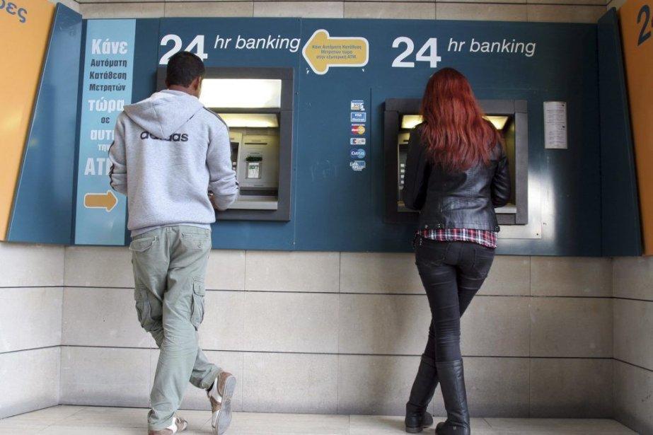 Bank of Cyprus, la première banque de Chypre,... (Photo Hasan Mroue, Agence France-Presse)