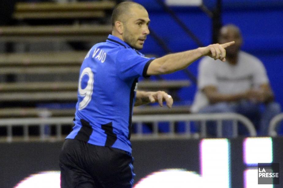 Marco Di Vaio a marqué le deuxième but... (Photo Bernard Brault, La Presse)