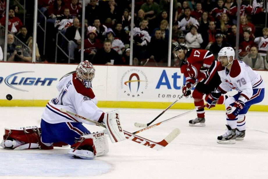 Carey Price est le héros du match.... (Photo Julio Cortez, Associated Press)