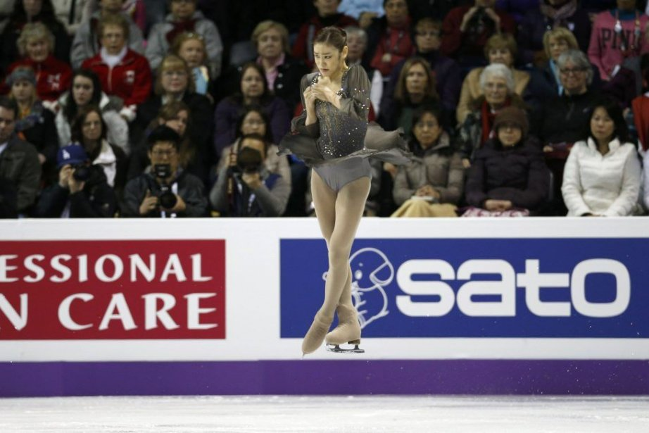 Kim Yuna... (Photo Mark Blinch, Reuters)
