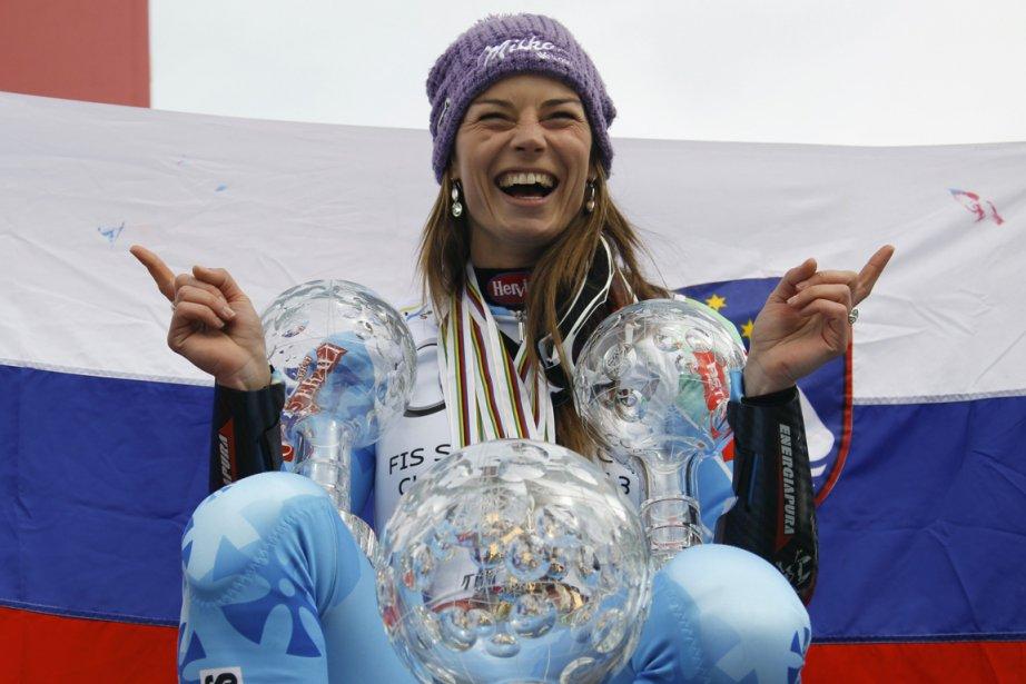 Il s'agissait de la 11e victoire de Tina... (Photo : Denis Balibouse, Reuters)