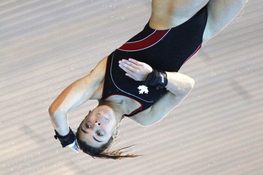 Meaghan Benfeito a aussi gagné la médaille d'argent... (PHOTO ANDREW WINNING, archives REUTERS)
