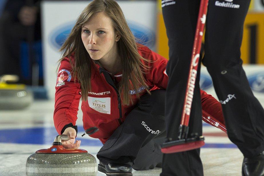 Rachel Homan, la skip du Canada.... (Photo : Andrew Vaughan, PC)