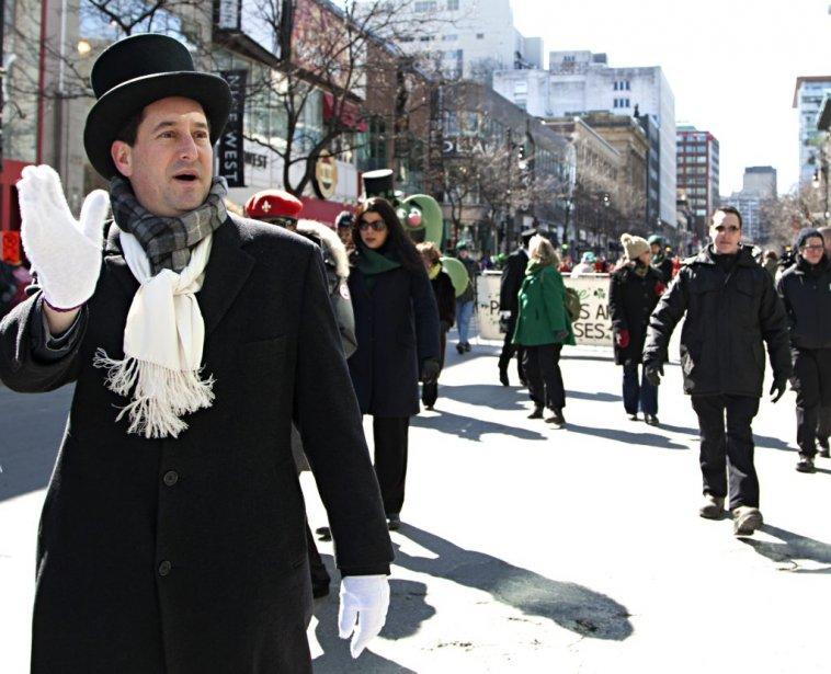 Le 190e défilé de la St-Patrick de l'histoire de Montréal. | 17 mars 2013
