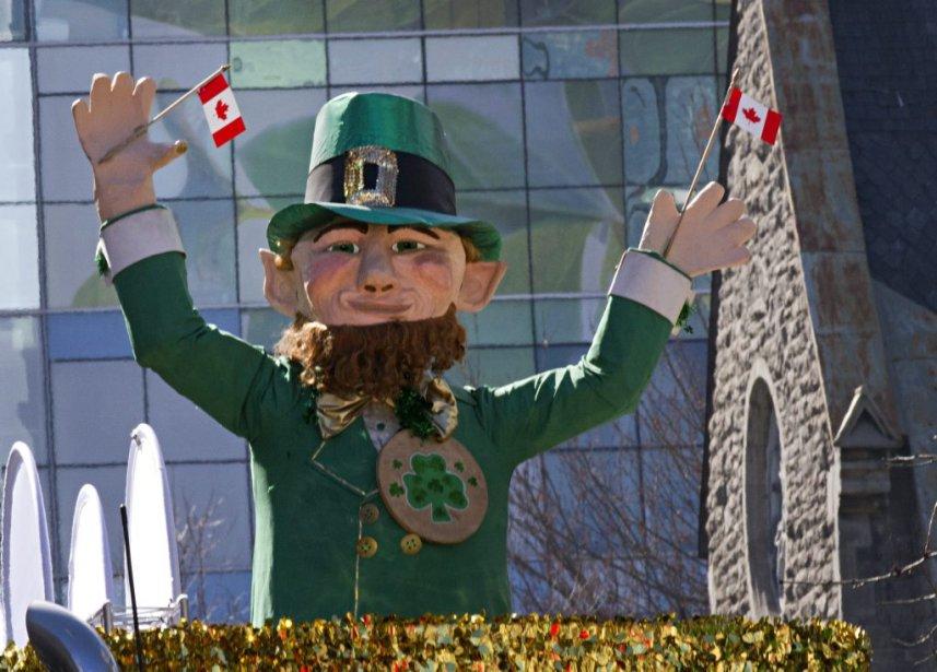 Le 190e défilé de la la St-Patrick de l'histoire de... | 2013-03-17 00:00:00.000