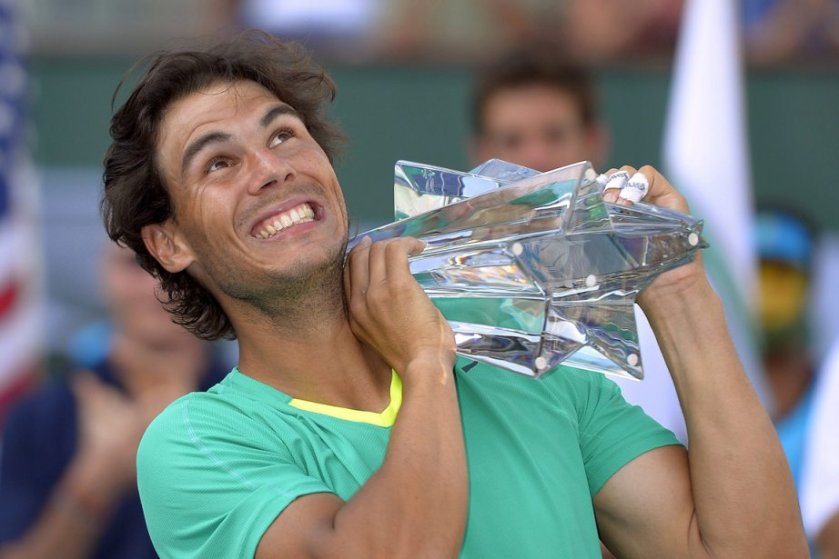 Rafael Nadal a remporté le tournoi d'Indian Wells,... (Photo Mark J. Terrill, AP)