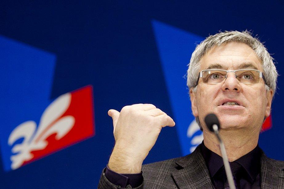Jean-Marc Fournier restera en poste pour diriger l'aile... (Photo: Marco Campanozzi, archives La Presse)
