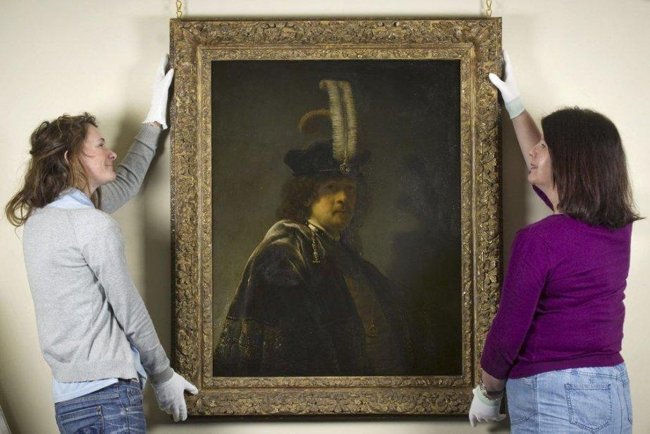Une toile remise au patrimoine public du Royaume-Uni par la... (Photo: AFP)