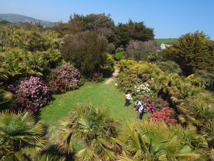 Le jardin botanique de Vauville s'étend sur 40 000 m². (Photo RelaxNews)