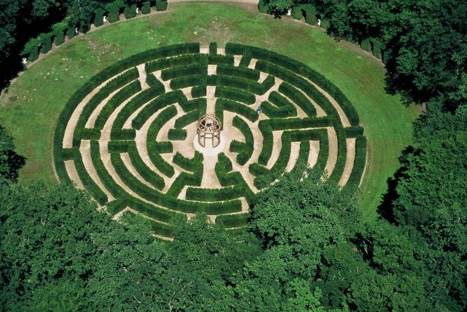 Le labyrinthe de Chenonceau invite le public à se perdre dans 1500 m². (Photo RelaxNews)